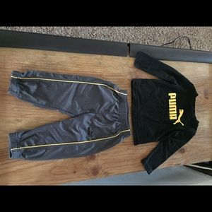 Puma outfit toddler size 4.5